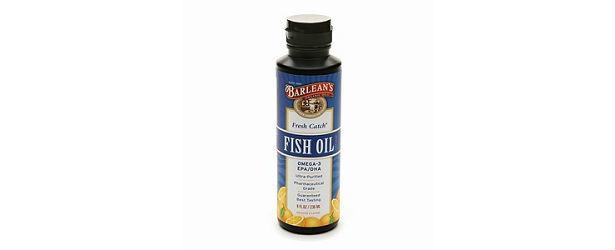 Barleans fish oil review for Fish oil ratings