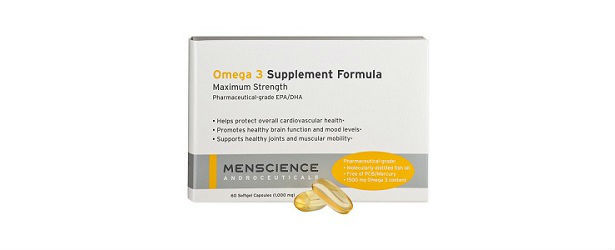Best Men's Omega 3 Fish Oil Supplement Review 615