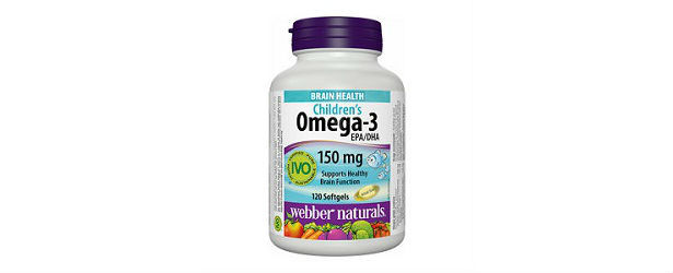 Children s omega 3 by webber naturals review for Fish oil webmd