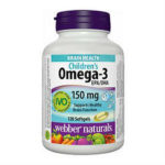 Children's Omega-3 By Webber Naturals Review 615