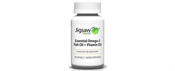 Jigsaw Health Essential Omega-3 Fish Oil Review