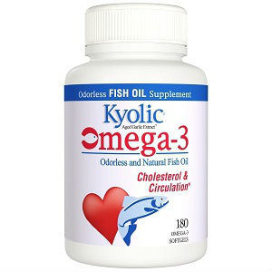 Kyolic aged garlic extract omega 3 review for Fish oil vitamins benefits