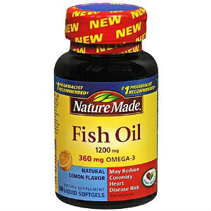 Nature made omega 3 fish oil review for Fish oil reviews