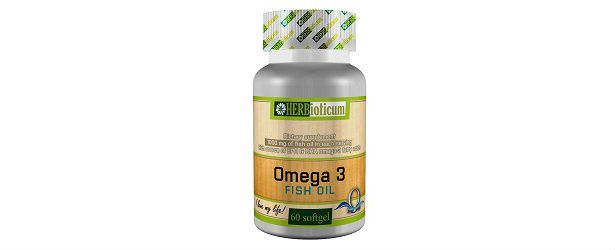 Omega 3 Fish Oil By Herbioticum Review