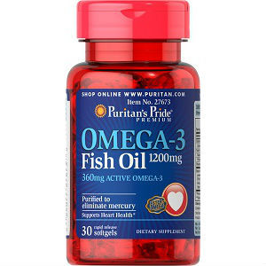 Omega 3 fish oil by puritan s pride review for Puritan s pride fish oil