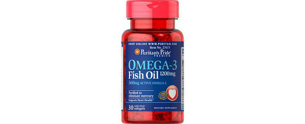 Omega-3 Fish Oil By Puritan's Pride Review