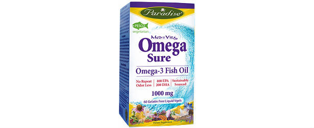Paradise Herbs & Essentials Omega-Sure Review