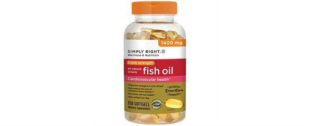 Simply Right Triple Strength Fish Oil Review