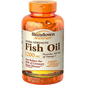 Sundown naturals fish oil supplements review for Fish oil pills