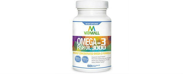 Vitamall omega 3 fish oil review for Omega 3 fish oil reviews