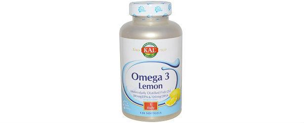 Omega-3 Fish Oil 1000 mg Lemon Flavor Review