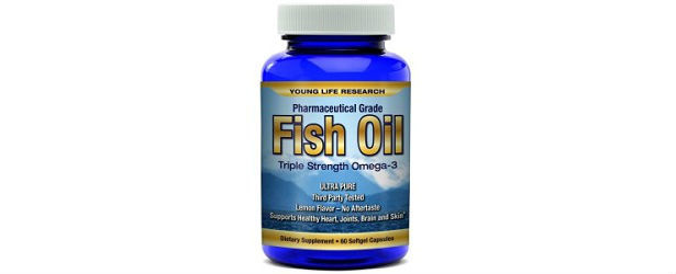 Omega3 fish oil young life research review for Fish oil and depression