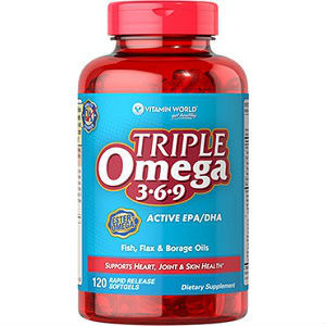 Triple omega 3 6 9 supplement review for Best time of day to take fish oil